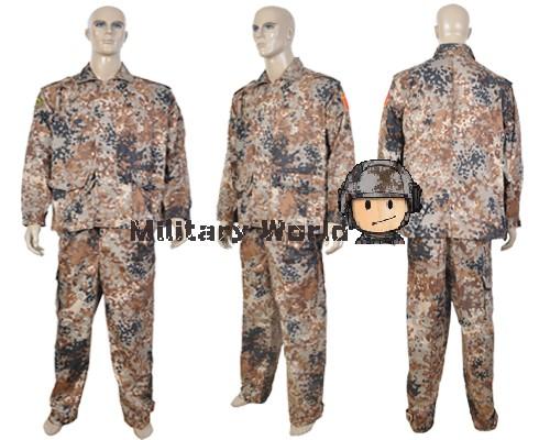 Chinese-PLA-Tibetan-Camo-Tactical-BDU-Uniform-Combat-Military-Wargame ...