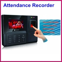 New 30T Biometric Fingerprint Time Clock Recorder Attendance Employee Digital Electronic Standalone Punch Reader Machine