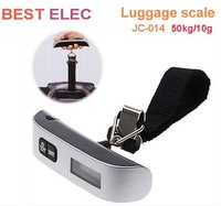 50kg /110lb Portable Hanging Digital Luggage Weighting Scale free shipping inclue the battery