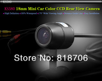 CCD Car Reversing Camera 18mm Mini 170 Degree Viewing Color Guide Line