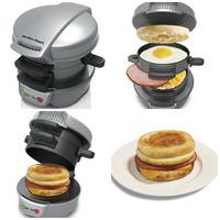 Beach Breakfast Sandwich Maker machine 110V 220V 700w burger cook bacon egg hamburger maker