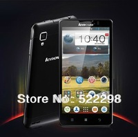 original phone lenovo p780 mtk6589 mobile cell phones Quad Core smartphone 4000mAh 8Mp 1GB RAM lot Language Russian black