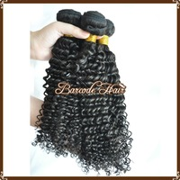 Free shipping Kinky Curl Natural Color  Peruvian Hair Extension  Virgin Hair AAAA Quality 8-30 inches