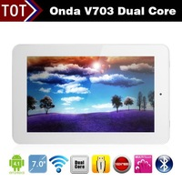 7 inch Onda V703 Dual Core Android 4.1 Tablet PC Bluetooth WiFi HDMI G-Sensor OTG HD 1024x600