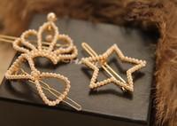 Korean hair accessories hairpin crown love bobby pin hair clip pearl bow Min.order is $10 (mix order)
