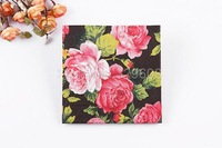 1 Pack 20 PCS Chinese Style Flowers Series Party Paper Napkin 33X33CM Pattern 19