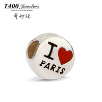 T400 beads charm gift 925 silver fashion jewelry q043