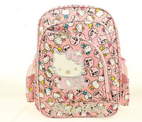Hello Kitty Children School Bags Kids Backpacks Mochila Free Shipping C04