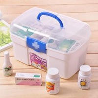 multi-layer health care box multifunctional first aid kit household medicine box