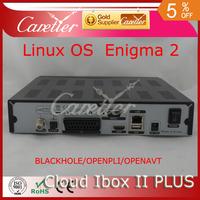 cloud ibox 2 plus support USB,WIFI,HBBTV,Youtube,IPTV,software cloudiboxII plus mini vu solo DVB-S2, YouTube free shipping fedex