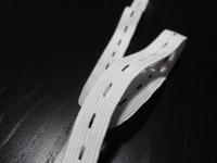 free shipping,mesh elastic,2.5cm width ,white ,elastic band,elastic webbing, MOQ is 40M/roll