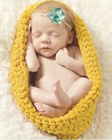 Free shipping 100% Pure Handmade Cute  Handmade Crochet newborn photography props