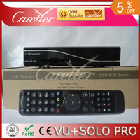 VU+SOLO PRO tuner dvb S2 satellite tv receiver mini vu solo with Chips BCM7325 the same functions as cloud ibox vu solo pro