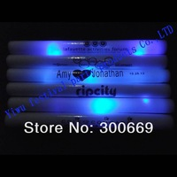 free shipping led foam light sticks  directly from China single color with blue