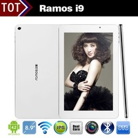 Ramos i9 Tablet Intel Atom Z2580 8.9inch FHD 1920x1200 2GB RAM 16GB 2.0GHz 5.0MP Camera Bluetooth WIFI
