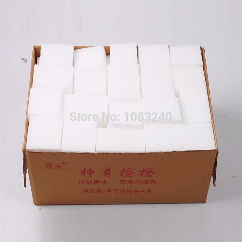 sale magic sponge eraser Melamine Cleaner Cleaning Wholesale cheap 100 pcs/lot(China (Mainland))
