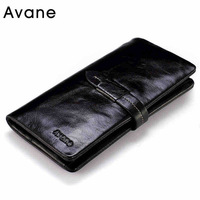 Guaranteed 100% Genuine Leather  men wallets  card holder purse wallets for famous brand 201402182D