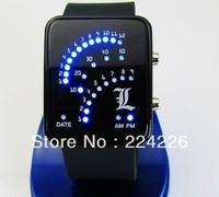 New arrive Fashion Led Digital Sports Watch Anime Death Note Cosplay Wristwatch Birthday Christmas Gift