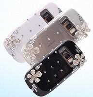 DIY five petal flower 3D stick for Nokia C7 mobile phone case