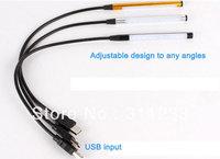 USB LED Desk Light 10LED Adjustable Angle LED Desk Bulb LED Reading Light Lamp