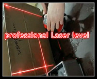free shipping professional Laser level with DC or AC