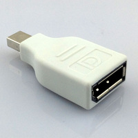 2014 Mini DisplayPort DP Male to DP Female Adapter Converter Connector For MacBook