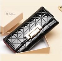 2014 hot sale free Shipping Fashion leather women wallet,ladies' purse,wallets for women,leather wallet,0390