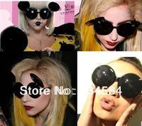 Funny Mickey retro sunglasses lady gaga sunglasses flip sunglasses influx of people