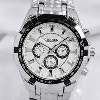 Curren commercial fashion male watch quartz sports watch table waterproof transfer sheet device