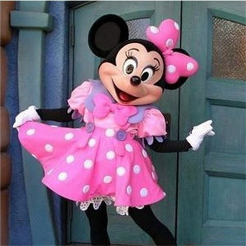 2013 New Funny Minnie Retail/ Mascot cartoon costume Appare Adult Size party(China (Mainland))