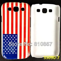 RETAIL, Popular Fashion Case for Galaxy S3 Flag Case, Printed Cover for Samsung i9300 S3. FREE SHIP