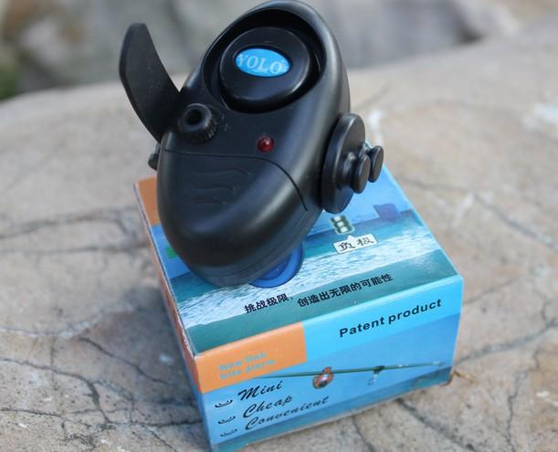 Original YOLO Outdoor LED Light Clip Rod Electronic Fishing Fish Bite Alarm Bell Battery -- Version 2(China (Mainland))