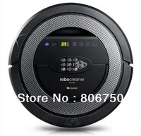 Free Shipping 2014 Newest Robot Vacuum Cleaner QQ5,Ultrasonic Wall,Schedule Function,2pcs side brush,2pcs rolling brush