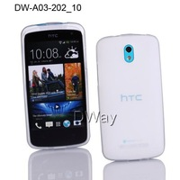 New Stylish High Quality  TPU Matt Soft Cover  For HTC Desire 500 Fast Shipping 20pcs For HTC Desire 500 Soft case