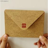 Mupu kraft paper envelope 80 pcs/lot  letter envelop wax stamp envelope