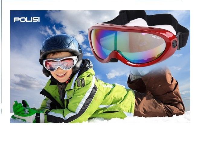 полисе лыжные очки