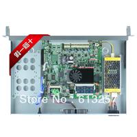 Onboard Intel Celeron 1037u 1U Firewall Appliance With 4*Intel 82574L and 2*NH82580EB ports