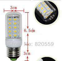 Waterproof SMD 5730 E27 12w led corn bulb lamp, 36LED Warm white /white,5730 SMD led lighting,free shipping