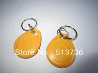 High Quality 125KHZ RFID Keyfob Card for access control system,Blue, Yellow ,Red,Grey,Orange
