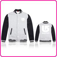 Free Shipping Online Stock Brand Burton Fashion Autumn&Winter Jacket Men Brand Casual Outerwear Jacket