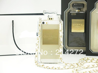 Hot selling Chain Brand logo TPU perfume bottle case for samsung galaxy note 3 N9000