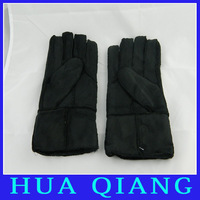 7873 New arrival  Faux suede gloves fur imitation leather gloves