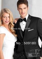 High quality wool customized tuxedo design male suits 5 pieces(Coat+Pants+Vest+tie+Shirt)TZ007 wedding suits