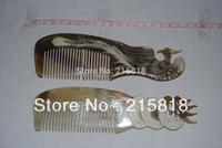 Skin Care Buffalo  VS-H017 Animal Massager Comb Horn 2pcs