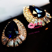 New 2014 Sexy fashion big drop stud earring earrings accessories  brand cc   sale jewelry bijoux lot