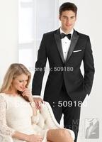 High quality wool customized tuxedo design male suits 5 pieces(Coat+Pants+Vest+tie+Shirt)TZ006 wedding suits for men