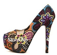 New 2014 Fashion Sexy Women high heels shoes Spring & autumn Women pumps Europe style woman sandals 159-10