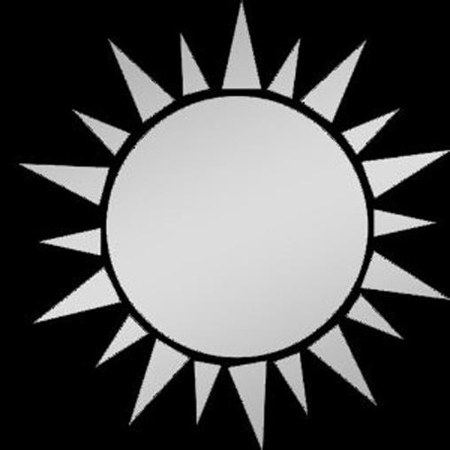2014 popular Hot sales Unique design Sun Acrylic Mirror Wall Sticker 1041(China (Mainland))