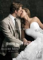 High quality wool customized tuxedo design male suits 5 pieces(Coat+Pants+Vest+tie+Shirt)TZ012 wedding suits for men 2013