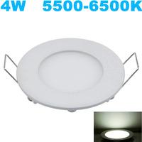 Best Seller!!! 10PCs/lot LED Panel Light 4W 20LEDs Ceiling Light SMD 2835 AC85V-265V Downlight Cold White Indoor